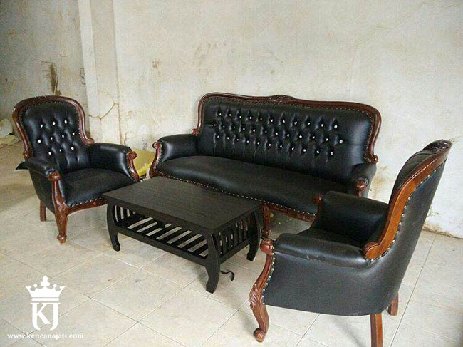 Kursi Tamu Sofa Klasik Jati GrandFather