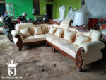 Kursi Tamu Sofa Ukir Model L